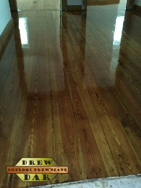Renowacja Deski Spod Farby Olejnej Z Wykończeniem (cyklinowanie) Drew-dar 3