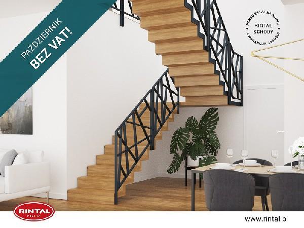 Rintal Polska, wiodący producent SCHODÓW do wnętrz organizuje PROMOCJĘ: PAŹDZIERNIK BEZ VAT w formie zniżki w wysokości 8% na zakup schodów wraz z poręczą i montażem. Skorzystaj z bezpłatnego pomiaru, projektu oraz otrzymaj wizualizację schodów w swoim wnętrzu gratis! Szczegóły oraz bogata oferta schodów Rintal Polska dostępna jest na stronie www.rintal.pl. Nasi doradcy są do dyspozycji na terenie całego kraju. Umów się na BEZPŁATNY POMIAR!?www.rintal.pl k.prabucka@rintal.pl+48 58 532 42 55